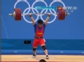 奥运视频-林清峰挺举187kg成功 举重男子69kg级