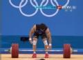 奥运视频-文俊熙挺举187kg失败 举重男子69kg级