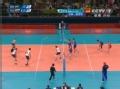 奥运视频-巴西开场短平快 卢卡斯3号位重扣得手