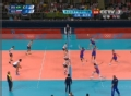 奥运视频-伊利内赫大力扣杀 男排巴西VS俄罗斯
