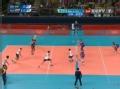 奥运视频-巴西一传到位 平拉开穆利洛重扣斜线