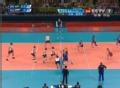奥运视频-伊利内赫网前截击 男排巴西VS俄罗斯