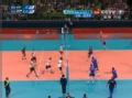 奥运视频-双方多回合鏖战 布鲁诺机警探头反击
