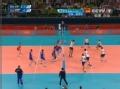 奥运视频-俄罗斯扣杀直线 巴西队双人拦网得分
