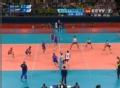 奥运视频-俄罗斯抹球佯攻轻扣 巴西拦网遭出界