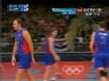奥运视频-卢卡斯3号位重直线 男排巴西VS俄罗斯