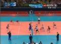 奥运视频-巴西网高点扣杀 俄罗斯双人截网防守