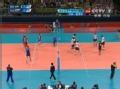 奥运视频-布鲁诺发飘球寻空档 俄罗斯一传失误