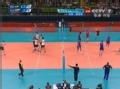 奥运视频-俄罗斯一传无功过网 丹特网上抓探头