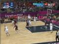 奥运视频-伊戈达拉打板命中 男篮美国vs突尼斯