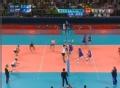 奥运视频-贝雷什科网前吊球 男排巴西VS俄罗斯