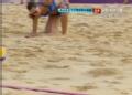 奥运视频-薛晨垫网前轻取一分 沙排女子小组赛