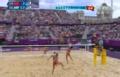 奥运视频-张希再现金左手 女子沙排中国VS希腊
