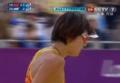 奥运视频-金左手大力扣杀 女子沙排中国VS希腊