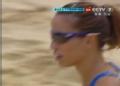 奥运视频-张希接档失误球出界 沙排女子小组赛