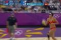 奥运视频-张希暴扣再得手 女子沙排中国VS希腊