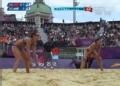 奥运视频-薛晨前排拦网得分 沙排女子小组赛