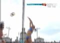 奥运视频-张希后排吊球得分 沙排女子小组赛