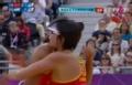 奥运组合-薛晨跃身拦网成功 沙排中国VS希腊