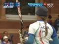 奥运视频-瓦列娃淘汰权云实 个人射箭淘汰赛