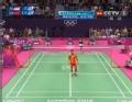 奥运视频-林丹网前杀球出界 男羽单打16强赛