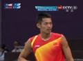 奥运视频-陶菲克外拉底线球 男羽单打16强赛