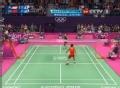 奥运视频-双方多回合对攻 林丹后场扣杀得分