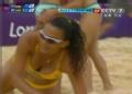 奥运视频-毛里求斯队扑球出界 沙排女子小组赛
