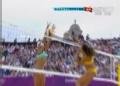奥运视频-塞勒姆跃起拦网得分 沙排女子小组赛