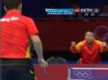 奥运视频-王皓连续直板快攻球 男乒单打8强决赛