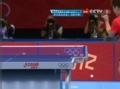 奥运视频-王皓连续下拉抽射球 男乒单打8强决赛
