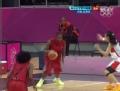 奥运视频-乔格突破造2+1 女篮中国VS安哥拉