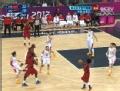 奥运视频-托马斯突破上篮 女篮中国VS安哥拉