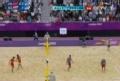 奥运视频-吴鹏根扣杀得分 中国21-17胜第二局