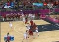 奥运视频-苗立杰内线突破得分 中国VS安哥拉