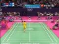 奥运视频-王仪涵头顶低吊球 女羽中国VS韩国