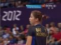 奥运视频-裵延姝暴扣底线球 女羽中国VS韩国