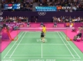 奥运视频-王仪涵近网轻挑球 女羽中国VS韩国