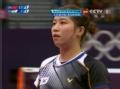 奥运视频-裵延姝多回合暴扣 女羽中国VS韩国