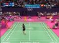 奥运视频-王仪涵外拉轻挑球 女羽中国VS韩国