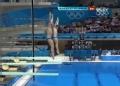 奥运视频-英国选手引尖叫 男子双人3米板决赛