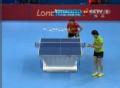 奥运视频-李晓霞急速横板弧圈球 女乒单打决赛