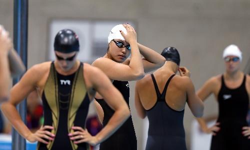 中国游泳队唐奕; 唐奕位列小组第一