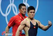 奥运图:男举77kg吕小军夺冠 英雄本色