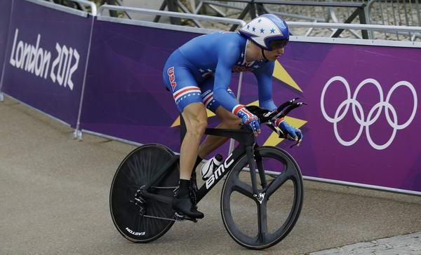 奥运图:维金斯自行车计时赛夺金 泰勒出发