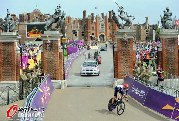 奥运图:维金斯自行车计时赛夺金 维金斯赛中