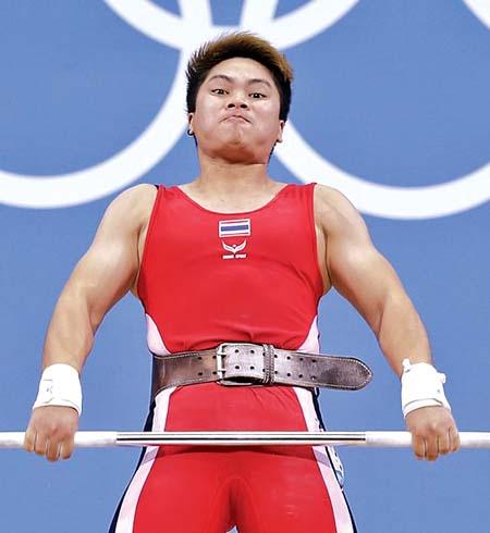 泰国选手皮姆斯里·西里卡乌,2012伦敦奥运会女子58Kg级举重亚军。