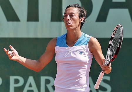 弗朗西斯卡·斯齐亚沃尼,意大利著名女子网球运动员。