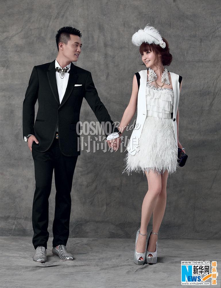 《北京青年》中举行雪山婚礼之后的再一次情侣造型.