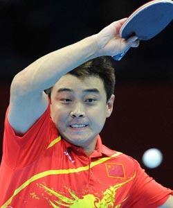 高清:王皓逆转晋级 中国会师决赛